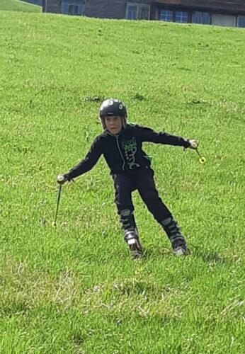 Grasski fahren - mal was ganz anderes :-)